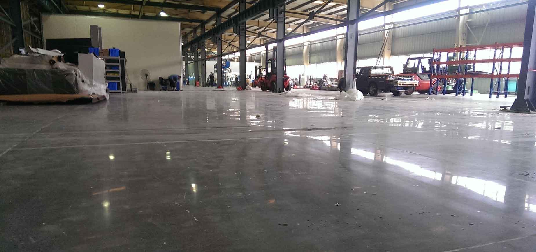 福清福耀玻璃厂 | 混凝土硬化地坪